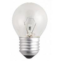 Лампа накаливания Jazzway P45 60W Е-27 прозрачная, 240v