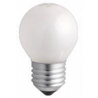 Лампа накаливания Jazzway P45 60W Е-27 матовая, 240v