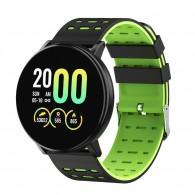 Фитнес-браслет MF999 с измерением давления зеленый