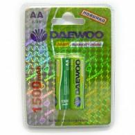 Аккумулятор Daewoo R6 1500 Ni-Mh BL 2/20