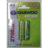 Аккумулятор Daewoo R6 2700 Ni-Mh BL 2/20