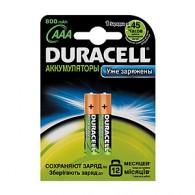 Аккумулятор Duracell R03 850 NiMH BL 2/20/200 предзаряженные