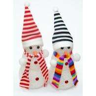 Сувенир ''Снеговик'' светодиодный средний (3 шара)