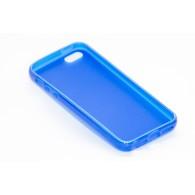 Чехол для iPhone 5 силиконовый синий