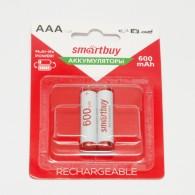 Аккумулятор SmartBuy R03 600 Ni-Mh BL 2/24