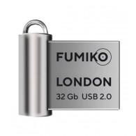 Флэш-диск Fumiko 32GB USB 2.0 London серебро
