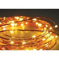 Эл. гирлянда LED 100 желых минидиодов, 10м, контроллер (LDM100-Y-C)