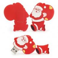 Флэш-диск 8Gb Usb2.0 Санта Клаус