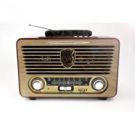 Радиоприемник M-115BT (USB /SD/FM/Bluetooth) вишневый