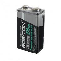 Аккумулятор Robiton 6F22 270mAh sh предзаряженный