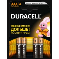 Батарейка Duracell LR03 Basic BL 4/40 (Промо)
