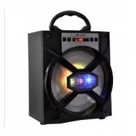 Колонка портативная MS-155BT (Bluetooth/USB /SD/FM/дисплей) черная