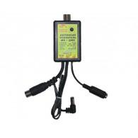 Усилитель антенный МВ+ДМВ 30дБ, пластик, провод пит.1м (САТ-Г\САТ-Ш) Antex