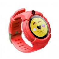 Smart-часы Q610S детские с GPS трекером красные