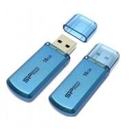 Флэш-диск Silicon Power 16GB USB 2.0 Helios 101 голубой