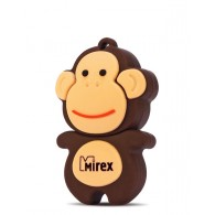 Флэш-диск Mirex 4Gb USB 2.0 Обезьянка