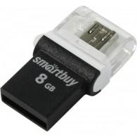 Флэш-диск SmartBuy 8GB USB 2.0 OTG POKO черный