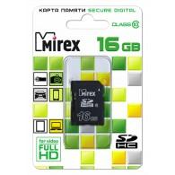 Карта памяти SDHC Mirex 16Gb Class 10