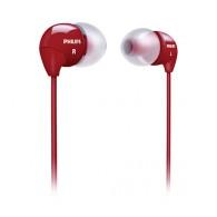 Наушники Philips SHE3590 RD вакуумные красные
