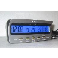 Часы автомобильные VST-7045V с внешним термосенсором