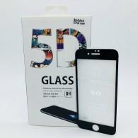 Защитное стекло 5D для iPhone 7\8 черное