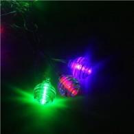 """Эл. гирлянда 20 светод.разноцв. """"Космос"""" 5м, прозр.шнур, мигает (1080383)"""