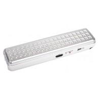 Фонарь Jazzway Accu9-L60 LED Li-Ion белый (аварийное освещение, 60Led)