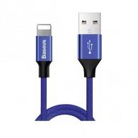 Кабель USB- lightning Baseus Yiven 1,2м (2,1А) нейлон