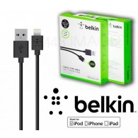 Кабель USB- iPhone5 Belkin 1м черный