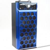 Колонка портативная CN-S2014FM-BT (USB /SD/FM/дисплей/пульт) синяя