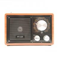 Радиоприемник БЗРП РП-329 (УКВ,СВ,КВ, USB,microSD, BT, 220v,3*R20)
