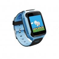Smart-часы Q529+ детские с GPS (черный/голубой)