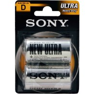 Батарейка Sony R20 ULTRA BL 2/24/120