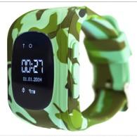 Smart-часы Q50 Hello детские с GPS трекером хаки