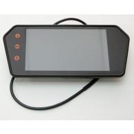 """Монитор для камер заднего вида на зеркало MP5 (7"""" цветной, TFT )"""