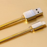 Кабель USB- iPhone5 Remax Safe&Speed GOLD 1м