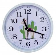 """Часы настенные круглые, рис. """"Лама"""" YP9516Y-3 (1АА)"""