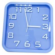 Часы настенные квадр.голуб. 2402 (1АА)
