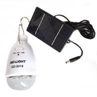 Солн.минисистема GD-5019 (солн.панель+светильник (АКБ 800mAh, до 4ч)