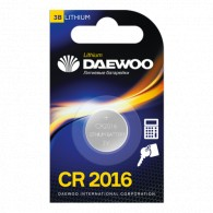 Батарейка Daewoo CR 2016 BL-1/20