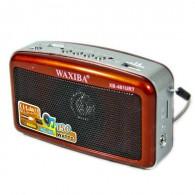 Радиоприемник XB-481 (USB/SD/FM) красный Waxiba