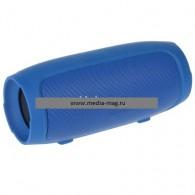 Мини-колонка CH Mini 3+ (Bluetooth\MicroSD) с функцией Power Bank синяя
