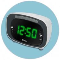 Часы электронные Ritmix RRC-1250 будильник+ радио