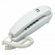 Телефон проводной Ritmix RT-005 белый