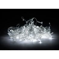 Гирлянда 200 светод.бел., прозр. шнур, 12м