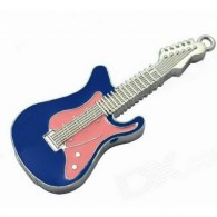 Флэш-диск 8GB Usb2.0 Гитара розово-голубая
