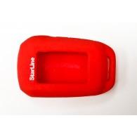 Чехол для сигнализации силиконовый Старлайн А92\А94 красный