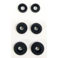 Амбюшуры для наушников (3 в 1) силиконовые (103217)