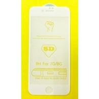 Защитное стекло 3D для iPhone 7\8 белое(102978)