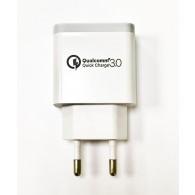 Адаптер 220V->USB 2A QC 3.0 LDO-M2
